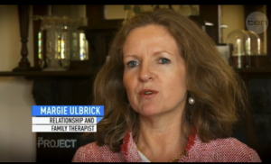 """Melbourne Relationship Counsellor Margie Ulbrick Appears on Channel 10's """"The Project"""""""